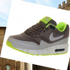 Scarpe da corsa Nike Air Max 1 Uomini marrone volt grigio Roma Scommesse online