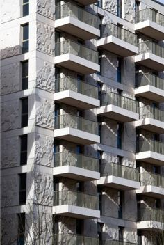 Niall Mclaughlin - Olympic Athletes Village Accommodation Block N15 The Elgin Marbles.