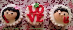 I love U cupcakes ~ valentine