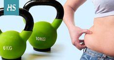 Vyötärölle kerääntynyt rasva voi olla haitallista terveydelle. Liikuntafysiologi ja personal trainerina työskentelevä liikuntabiologi kertovat, mistä rasvan kerääntyminen johtuu ja miten siitä pääsisi parhaiten eroon. Health And Wellness, Health Fitness, Kettlebell, Personal Trainer, Feel Good, Gym Equipment, Exercise, Workout, Feelings