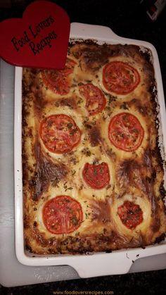 Bhg Recipes, Mince Recipes, Sausage Recipes, Chicken Recipes, Cooking Recipes, Recipies, Mince Dishes, Food Dishes, Quiche Tart Recipe