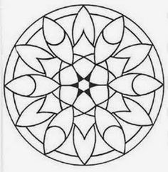 Simple Flower Mandala coloring page from Floral mandalas category. Select from 31983 printable crafts of cartoons, nature, animals, Bible and many more. Mandala Art, Flower Mandala, Mandala Pattern, Mandala Design, Pattern Coloring Pages, Mandala Coloring Pages, Free Printable Coloring Pages, Colouring Pages, Coloring Books