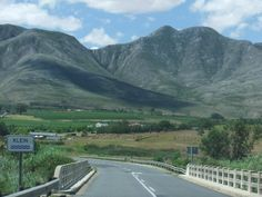 Stanford, Western Cape, South Africa.  This photograph was taken the day before a fire sparked by lightening destroyed virtually all of the fynbos between Stanford and Hermanus