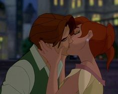 Meaning of kiss! Dimitri & Anastasia from Anastasia, Century Fox Kuzco Disney, Disney Pixar, Disney And Dreamworks, Disney Animation, Disney Cartoons, Animation Film, Disney Magic, Disney Characters, Animation Studios