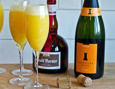 Grand Mimosas Perfect for Christmas Brunch