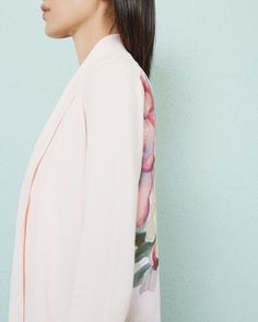 Painted Posie wrap cardigan - Baby Pink | Knitwear | Ted Baker NEU