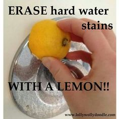 Good idea #water #stains #lemon #nydjcanada