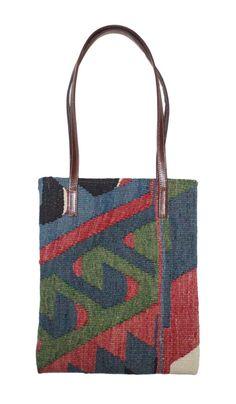 Handmade Kilim %100 PURE LEATHER Strap Orientalist Shoulder Stylish Bag #ShoulderStyleBag