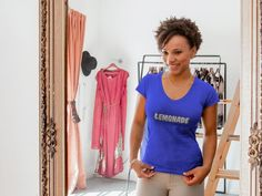 Lemonade T-shirts for Women and Men. Secure Checkout. #goodhair #becky