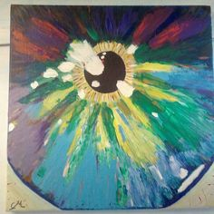 #madness My #mystic #eye #drawing #painted #painting #original Painted by Cristina Marin Acrylic on canvas
