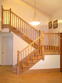 Traditional Oak Post to Post Staircase