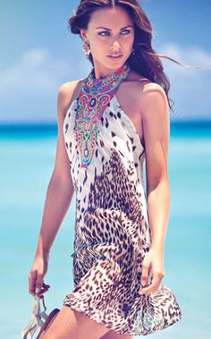 Peacock Beachwear and Coverups  by Caffe 2012 Swimwear