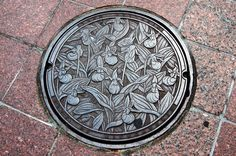Minneapolis: Lady's Slipper Manhole Cover | Flickr - Photo Sharing!