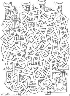 un labyrinthe Welkom bij Dover Publications Colouring Pages, Coloring Books, Mazes For Kids, Hidden Pictures, Dover Publications, Early Finishers, Activity Sheets, Preschool Worksheets, Kids Education