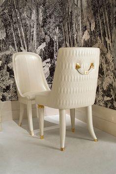 Numero Tre Collection www.turri.it Italian luxury design chair