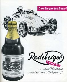 Radeberger Export GDR Advertising