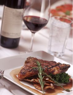 Steak and wine, Gusto Restaurant & Bar Maryborough