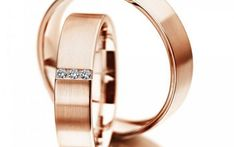 Verighete din aur roz MDV997 #verighete #verighete5mm #verigheteaur #verigheteaurroz #magazinuldeverighete Bangles, Bracelets, Aur, Jewelry, Wedding, Diamond, Jewlery, Jewerly, Schmuck