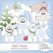 Yeti Yove Templates by Kim Cameron cudigitals.com cu commercial template scrap scrapbook digital graphics Cameron #digitalscrapbooking #photoshop #digiscrap #scrapbooking