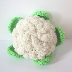 Crochet Food Pattern Vegetables by CrochetNPlayDesigns on Etsy Fruits En Crochet, Crochet Food, Cute Crochet, Crochet Baby, Knit Crochet, Double Crochet, Single Crochet, Knitting Patterns, Crochet Patterns