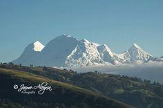 Nevado Huascaran. Highest peak of the Peruvian Andes. Ancash, Perú