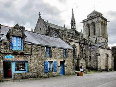 France, Bretagne, Finistère, Le Faou, Locronan