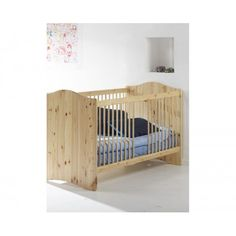 Steens for Kids Cot Bed (Solid Pine)
