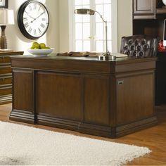Cherry Creek  Executive Desk by Hooker Furniture
