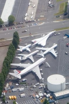 """Concorde: """"An Aircraft Masterpiece in a Museum: Her Final Resting Place.""""        (Museum of Flight, Seattle.)"""