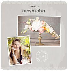 The A-list: Amy Osaba Floral Design Wedding Flower Arrangements, Wedding Flowers, 100 Layer Cake, Vintage Weddings, Event Design, Flower Power, Amy, Bridal Shower, Floral Design