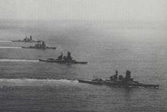 The 4 Kongo class battleships