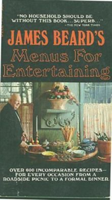 James Beard's Menus For Entertaining - James A. Beard in spuddled's Book Collector Connect collection