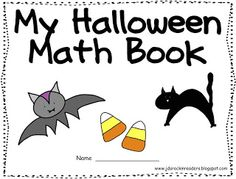 Halloween Math Book FREEBIE - Great for your Kindergarten and grade students, and grade students who need some remediation. Click through to grab your FREE copy today! Use this ANY time in October! Preschool Math, Math Classroom, Kindergarten Math, Fun Math, Teaching Math, Math Activities, Teaching Ideas, Classroom Freebies, Math Worksheets