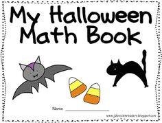 Halloween Math freebie