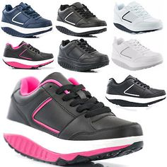f8523ac7 Shoes Man Woman Fitness Firming Buttocks Slimming Sports Floating t46  Mujeres En Forma, Hombres Y