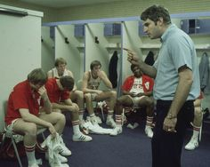 Indiana coach Bobby Knight talks to his players during ...