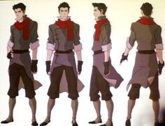 Mako is part of the new Team Avatar. Mako is a firebender but has a brother, Bolin, who is an earthbender.