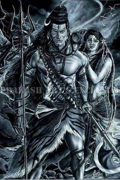 Maha dev with aadi shakti