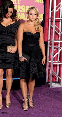 Kellie Pickler, Miranda Lambert attend CMT Music Awards