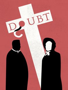 Doubt minimalist movie  poster
