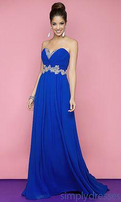 Royal Blue Gown..mardi gras