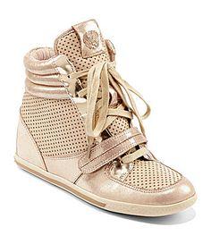 Vince Camuto Franki Wedge Sneakers #Dillards