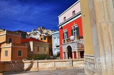 GREECE CHANNEL | Town Of Hermes #Syros Island http://www.greece-channel.com/