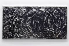 Embossed Painting Series, Junk Silver, 2016