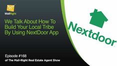 Building Tribe Locally Using an App called NextDoor Nextdoor App, Neighborhood Watch, Community Building, Real Estate Tips, Word Out, Losing A Dog, Natural Disasters, Real Estate Marketing, Other People