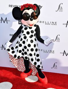 Minnie Mouse just got the most vogue makeover ever