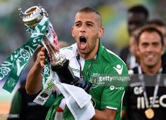 ISLAM SLIMANI Exulting with a conquest of whitch he had a major contribution. Thanks striker!