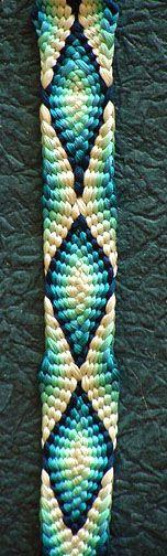 Karagumi, graduated blue silk, 28 tama, marudai - Home Bracelet Patterns, Beading Patterns, Bead Crafts, Jewelry Crafts, Diy Bracelets With String, Finger Weaving, Card Weaving, Jewelry Knots, Passementerie