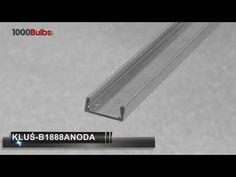 Klus B1888ANODA - 3.28 ft. LED Tape Light Channel