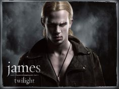 "James was born towards the end of the American Revolution. His father was a French trapper .  James is a merciless ""tracker"" vampire who hunts human beings for sport.James is unusually gifted at what he does and always gets what he wants, except when then-human Alice Cullen escaped him years ago by being turned into a vampire before he could attack her. He was attracted to her because Alice's scent was very intoxicating to him. Unlike the Cullen family, he drinks human blood."